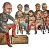 Putin friends, Vonk (de Volkskrant), Netherlands, April 2014